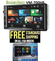 """SoundStream 2-DIN HD 7"""" 800 x 480 LCD Bluetooth, Aux & USB Head unit VM-700HB"""