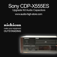 Sony CDP-X555ES Upgrade Kit Audio Capacitors
