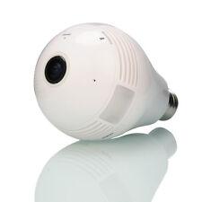 1.3MP 360 Panoramic Wireless Light Bulb Network 960P WIFI IP Camera Night Vision