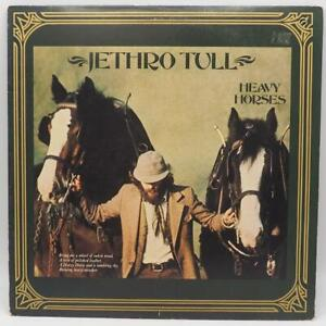 Vintage Jethro Tull  Heavy Horses Vinyl LP Album CHR 1175