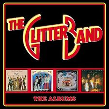 Albums: Deluxe Four Cd Boxset - 4 DISC SET - Glitter Band (2016, CD NEUF)