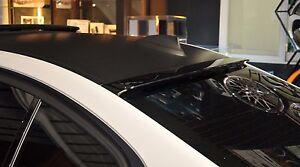 REAR ROOF WINDOW SPOILER ABS A TYPE FOR BMW F30 '12'14 4D SEDAN Unpainted