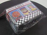 DINER SIDELOAD DECK BOX ULTRA PRO CARD BOX FOR MTG POKEMON CARDS