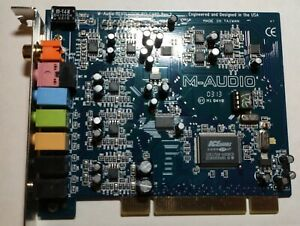 M-AUDIO Revolution 7.1 sound card 192khz 24bit Pro RDS capable stereo-tool cert.