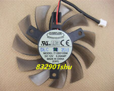 For 75mm 12V 0.2A 2pin T128010SM Fan VGA Video card GTX580 GTX670 560ti #Shu62