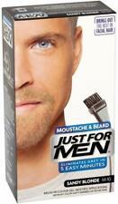 Just For Men Moustache & Beard Sandy Blonde M10 Discreet Packaging & Listing