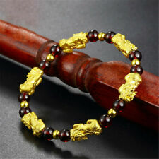 Bracelet Lucky Garnet Cuff Feng Bangle PiXiu Chinese Shui Beads