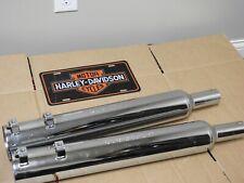 Harley Davidson Road King Electra Glide Slip Exhaust Mufflers 65254-00