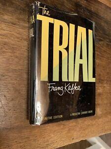 The Trial  FRANZ KAFKA Modern Library No. 318 Definitive Edition NF/VG w/ price