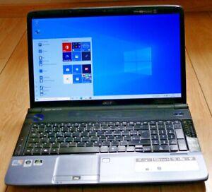 Acer Aspire 7738G, 17,3'',Intel Core 2 Duo 2,1Ghz,4GB RAM,1TB HDD,GF 240M,WIN 10