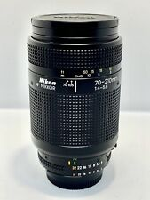 Tele-Objectif ZOOM NIKON AF Nikkor 70-210mm f/4-5,6 Lens + Filtre UV