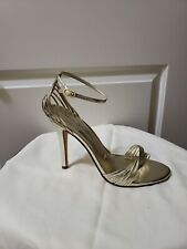 Womens Chinese Laundry HIgh Heel shoes US Size 10 Metallic/Light Gold New