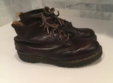 Vintage Mens Sz 13 90's Dr. Doc Martens Leather Ankle Boots Hiking Brown England