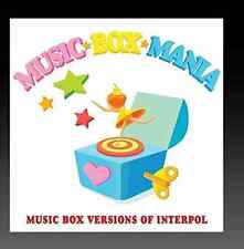 MUSIC BOX MANIA-VERSIONS OF INTERPOL (MOD)  (US IMPORT)  CD NEW