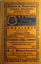 1938 Fitchburg Massachusetts City Directory