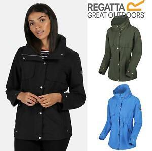 Regatta Womens Kimberley Walsh Narelle Waterproof Jacket Full Zip Up Coat