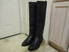 "FRYE 17"" KNEE TALL BOOTS GREAT COND FEW TIMES USED 5 MOTORCYCLE MADE IN SPAIN"