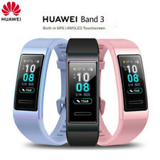 Huawei Band 3 Smartband GPS Metal Frame Full Color AMOLED Display Smart Band