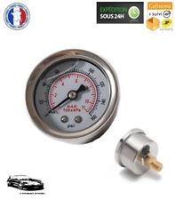 Manomètre de Pression D'essence à Glycérine - Réglage Pression de 0 à 11 bars