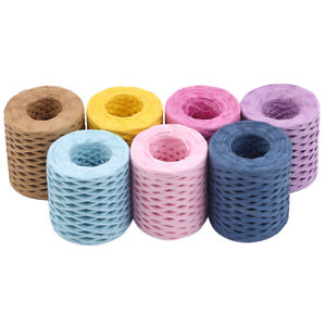 Multifunctional Gift Wrapping Raffia Paper Ribbons DIY Party Decorations JH