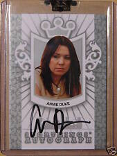 2008 Sportkings Razor Leaf ANNIE DUKE Auto Poker
