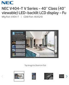 "NEC V404-T V Series - 40"" Class (40"" viewable) LED-backlit LCD display"