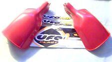 UFO PLAST 115211 NOS RED PLASTIC UNIVERSAL HAND GUARDS FOR DRUM BRAKE MODELS