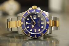 Rolex Submariner 116613 Blue Steel and Gold