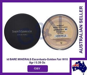 Bare Minerals Escentuals BareMinerals Golden Fair W10 - 8gr/0.28 Oz.