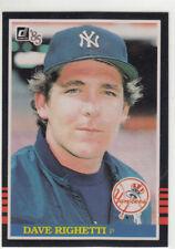 DAVE RIGHETTI 1985 DONRUSS #336 NEW YORK YANKEES