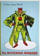 POWER PIN-UP Print - The MANDARIN Vintage Art Marvel UK Distribution Iron Man