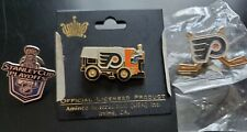 Lot of 3 NHL Philadelphia Flyers lapel/hat pins