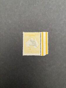 Australia 1915 SG 42c 5' Roos, MH Stamp