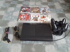 Console PS3 noire 12 GO +6 jeux