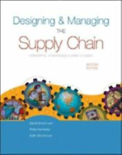Designing and Managing the Supply Chain (Irwin/Mcgraw-Hill Series in Operations