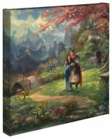Thomas Kinkade Studios Mulan Blossoms of Love 14 x 14 Canvas Wrap