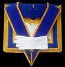 masonic regalia-CRAFT-CRAFT PROVINCIAL DRESS APRON AND COLLAR PACKAGE (LAMBSKIN)