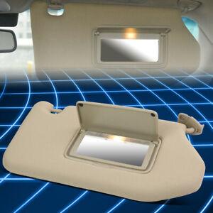 For 13-19 Pathfinder / Infiniti Passenger Right Side Sun Visor Replacement Beige