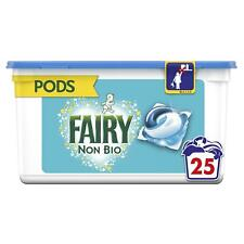 Fairy Non Bio Pods Washing Liquid Detergent Capsules, Sensitive Skin - 25 Washes