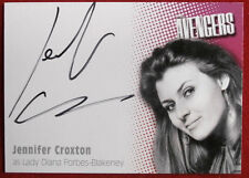 THE AVENGERS - JENNIFER CROXTON - AUTOGRAPH - SERIES TWO A4 - Strictly Ink 2005