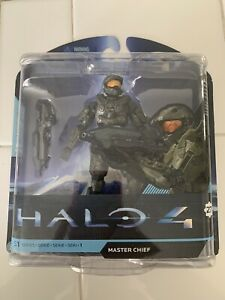 McFarlane Toys Halo 4 Master Chief Action Figure Weapon 27 Moving Parts S1 New