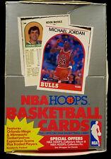 Hoops 1989 1990 NBA Basketball Trading card Box New