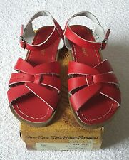 Saltwater Sandals Red Size 36 NEW, BOXED & GENUINE
