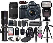 Canon EOS 5D Mark IV Digital SLR Camera Bundle with EF 24-105mm f/4L IS II USM