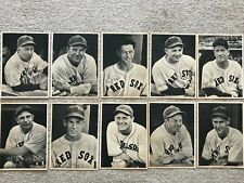 early 1940s Boston Red Sox Picture Pack photos (10 dif) Ted Williams Lefty Grove