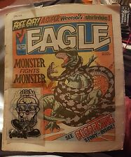 EAGLE COMIC - June 16th 1984 with transfer