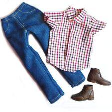 Barbie doll Fashion clothes shirt pants shoes set for KEN doll