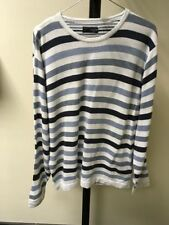 Next Regular Striped Thin Knit Jumpers & Cardigans for Men