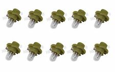 For Mercedes CLK430 CLK320 SET OF 10 OSRAM-SYLVANIA 12V-1.3W Bulb 000000 000977