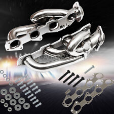 For 09-18 Dodge Ram 1500 Headers Exhaust Shorty Hemi Manifold Stainless 5.7L